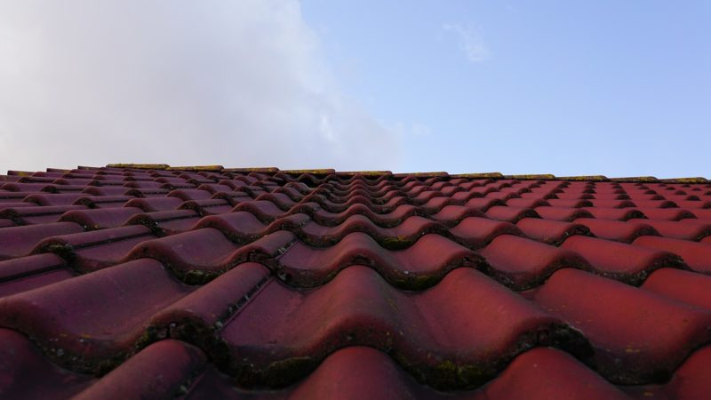 North Devon roof